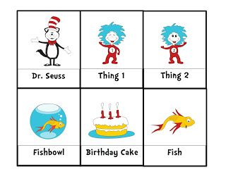 Preschool Printables: Dr. Seuss | Dr. Seuss | Pinterest