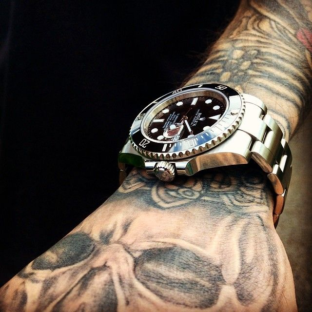 41 best images about tattoos and timepieces on pinterest moon watch rolex and rolex submariner. Black Bedroom Furniture Sets. Home Design Ideas