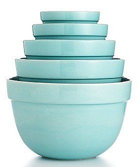 Kitchen: Martha Stewart Turquoise Mixing Bowls