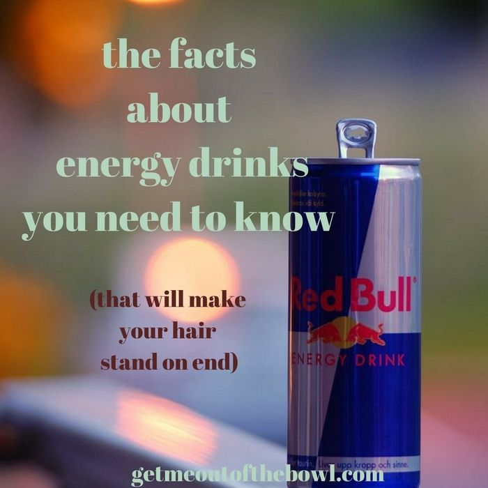 Energy drinks are NOT the answer for health or any weight loss goals!