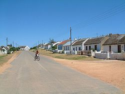 Elim - established in 1824 by German missionaries as a Moravian mission station, Cape Province