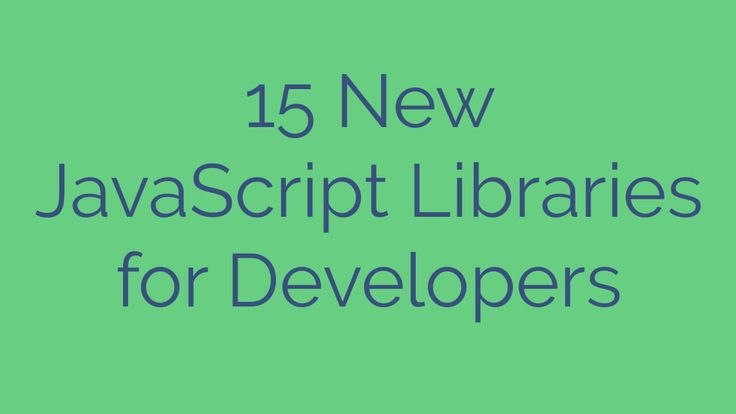 15 New JavaScript Libraries for Developers, javascript libraries, javascript library, javascript charting libraries, javascript chart library, javascript graph library