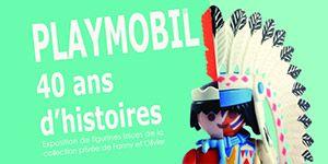 A l'occasion du 40e anniversaire de PLAYMOBIL®, le musée du Jouet de Moirans-en-Montagne consacre une exposition à ces petites figurines originaires d'Allemagne et raconte l'histoire de ce jouet incontournable depuis 1974 au travers de scénettes choisies, historiques et narratives, où 2 500 personnages sont mis en scène. #jouet #Playmobil