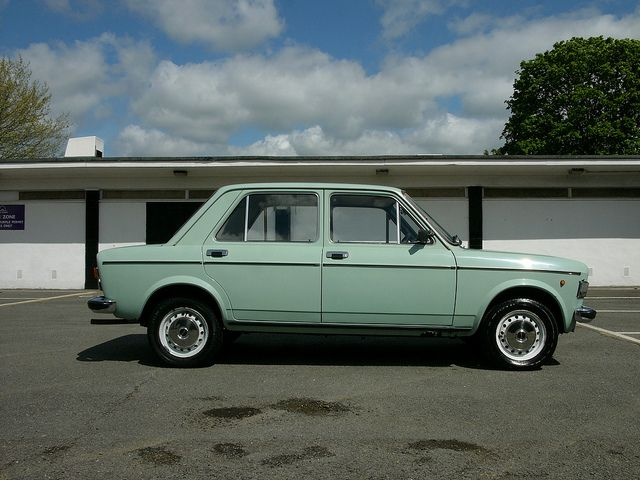 In the 1970s I owned a landlady green Fiat 128 just like this one.