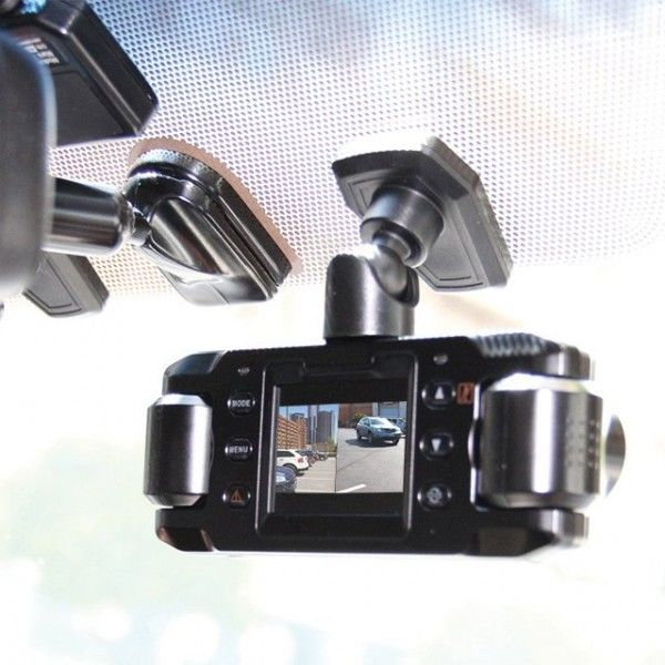 Front & Rear Recording Dash Cam – $199