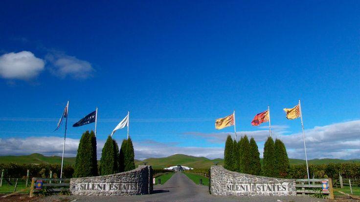 Sileni Estates Winery Hawke's Bay New Zealand