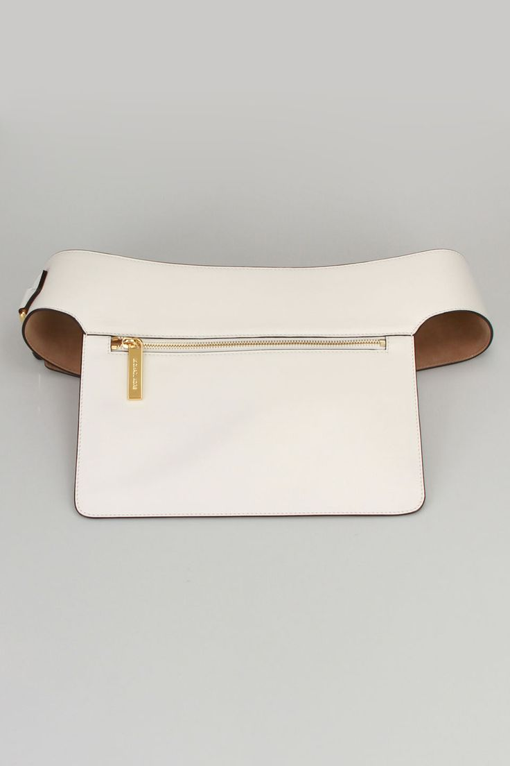 Michael Kors Flat Pocket Belt...can I make a fabric pocket to wear with clothes that do not have pockets?