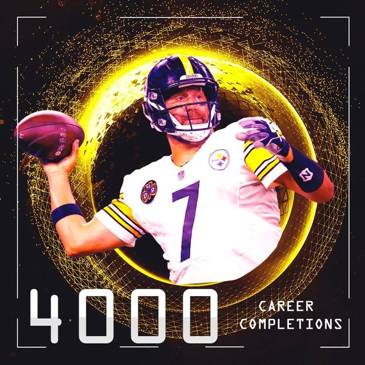 Ben Roethlisberger has become the 9th player in NFL history with 4,000 career pass completions.