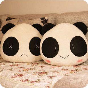 Almofada casal panda