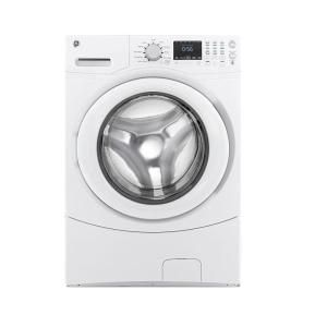 GE 4.3 cu. ft. Front Load Washer in White, ENERGY STAR GFWN1600JWW at The Home Depot - Mobile
