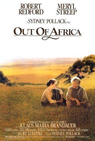 """Out of Africa (1985) - D And UR killer. The train is named """"UR"""" and it's number 301 - 3 UR death. 161 minutes = D death - http://www.imdb.com/title/tt0089755/ Look for the """"UR"""" letters on the side of they train."""