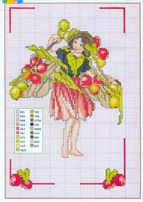 blackbryony fairie, magazine version no background and part from original
