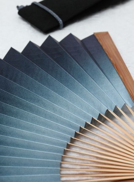 Japanese paper folding fan, Sensu 京扇子
