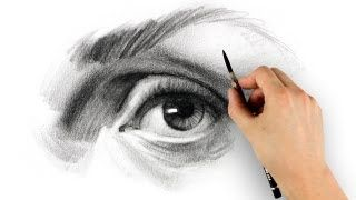 Proko - YouTube - drawing eyes step-by-step