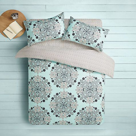 Buy MissPrint Kaleidoscope Duvet Cover and Pillowcase Set Online at johnlewis.com