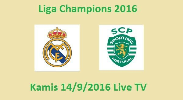 Real Madrid VS Sporting Lisbon