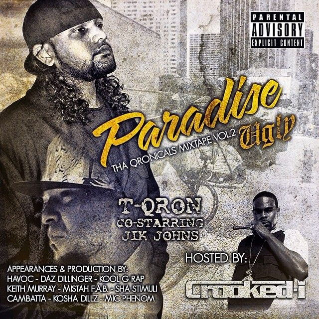 "#FreeDownload & #Stream   #TQRON's ""Paradise Ugly"" the second offering from the Hawaii #Rapper & Promoter is out for FREE DOWNLOAD via  www.T-QRON.com  . . . . If you haven't heard it YET get that ""T-QRON -  Tha QRONiCals Mixtape Vol. 2 - Paradise Ugly"" Co-Starring Jik Johns Hosted By: #CrookedI AKA #KxngCrooked of #Slaughterhouse & #ShadyRecords is LOADED with 24 tracks! This monumental #mixtape offering features various LEGENDARY #HipHop artists such as:  #KoolGRap 