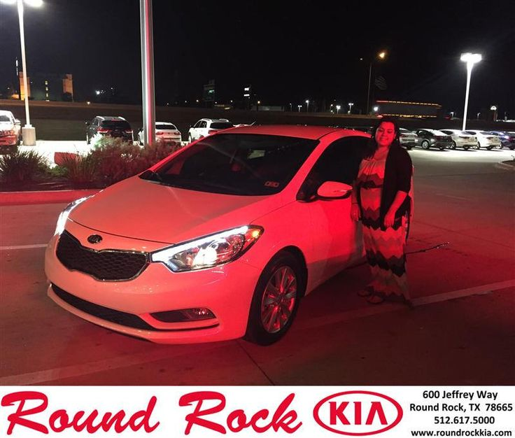 "https://flic.kr/p/sZBenm | Congratulations to Veronica Rivera on your #Kia #Forte from Jorge Benavides at Round Rock Kia! #NewCar | <a href=""http://www.roundrockkia.com/?utm_source=Flickr&utm_medium=DMaxxPhoto&utm_campaign=DeliveryMaxx"" rel=""nofollow"">www.roundrockkia.com/?utm_source=Flickr&utm_medium=DM...</a>"