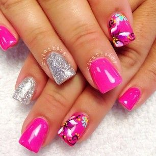 pinombre nails with diamonds on ombre nails with
