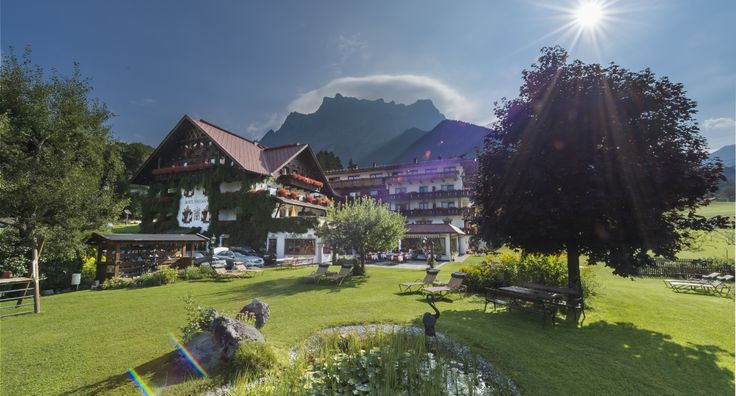 -  Le Romantik Hotel Spielmann dans la région Tiroler Zugspitz Arena © Romantik Hotel Spielmann