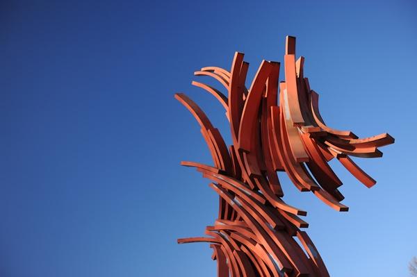 Escultura Trueno