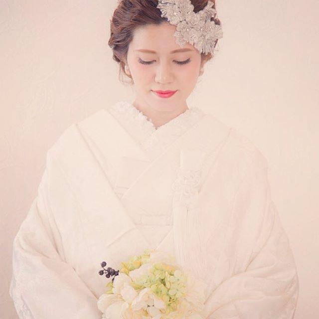 #結婚式前撮り#前撮り #和装#白無垢#結婚式 #プレ花嫁#ビジューアクセ #和装ヘア#和装ヘアメイク #ブライダルJOY#読谷JOY #沖縄ブライダルJOY