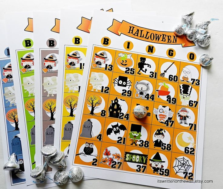 its written on the wall indoor halloween games dinner menus freebies party favors - Halloween Games For Groups
