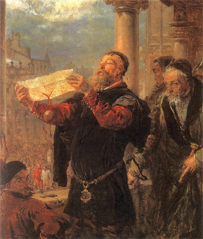 Judgement on Matejko - Jan Matejko