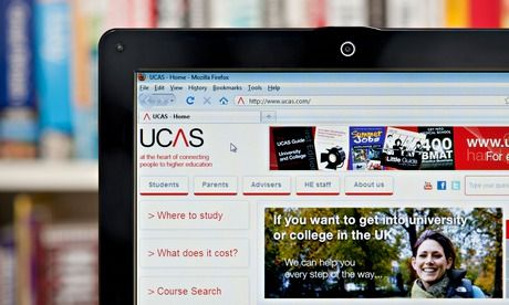 The UCAS website