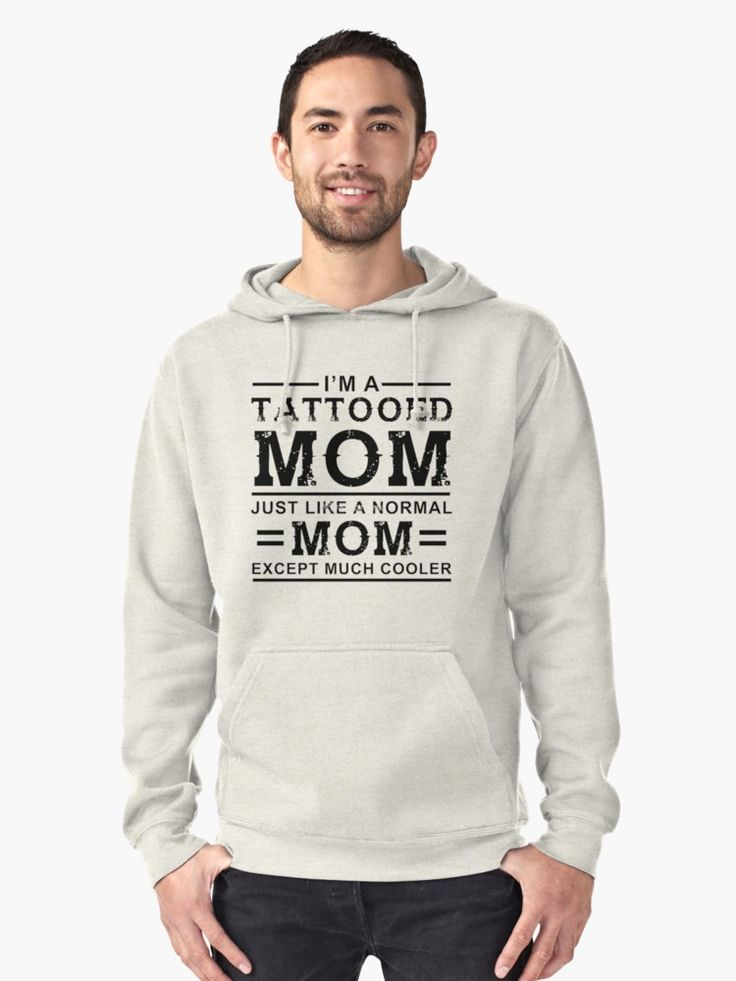 I'M TATTOED MOM Pullover Hoodie