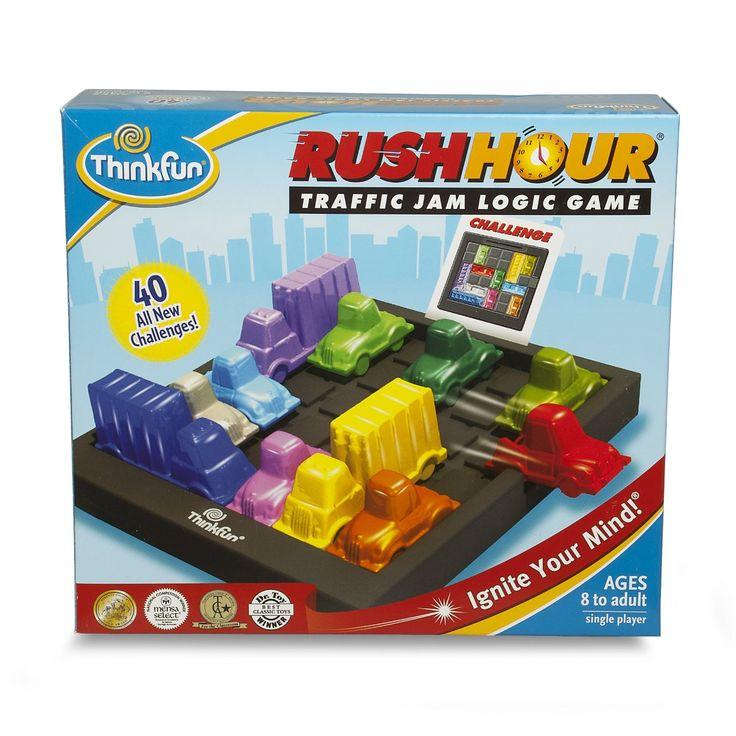Rush Hour - Puzzle - Circulation et Réseau Routier - Version Anglaise: Amazon.fr: Jeux et Jouets