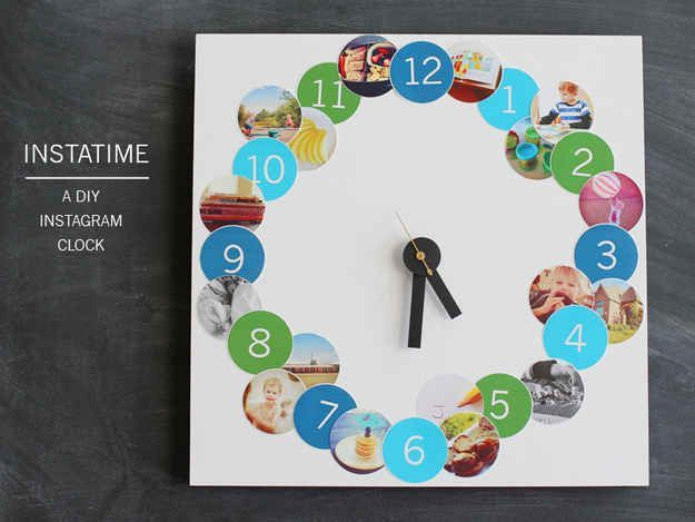 Awesome DIY list including an Instagram clock, dorm-friendly wallpaper (what?!), a no-sew rope rug and 18 other brilliant dorm decor ideas and dorm hacks.