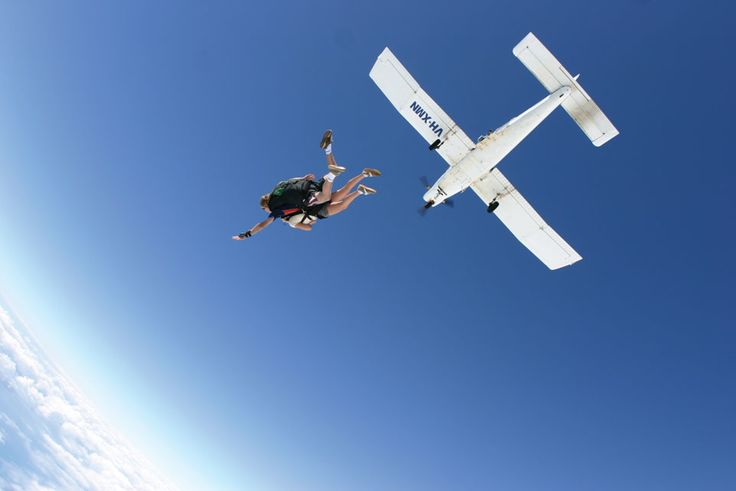 The Great Barrier Reef like you've never seen before! #Skydiving