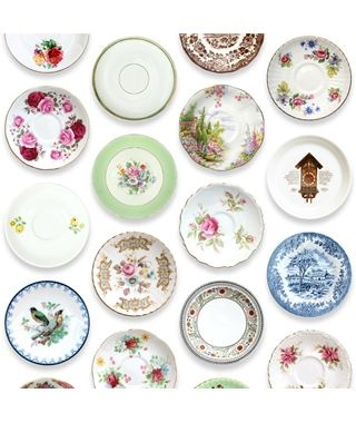 wallpaper #studioditte: Decor, Vintage Plates, Pattern, Country Home, Porcelain Wallpapers, Plates Wallpapers, Home Studios, Products, Studios Ditte