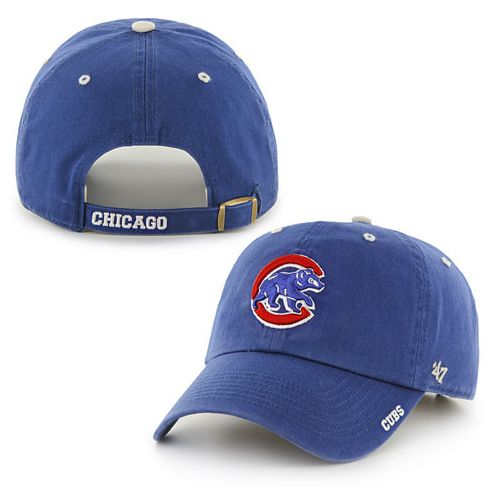 Chicago Cubs Walking Bear Ice Cleanup Adjustable Cap BY '47 BRAND