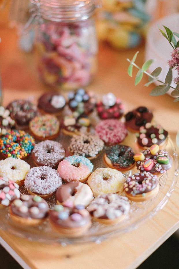 Mini-#Donuts zur #Hochzeit