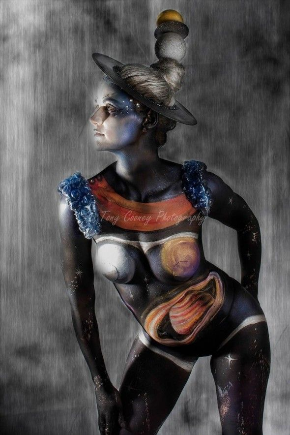 Cosmic Girl - Body Factory competition 2013 - 3rd place - image by Tony Coony