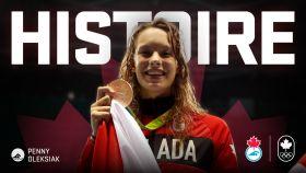 D'une recrue au futur prometteur à championne olympique en seulement six jours…