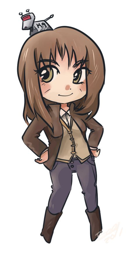 """Commission- Sarah Jane Smith"" (by T3hb33 on deviantART)"
