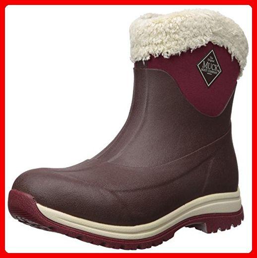 Muck Boots Arctic Apres 8in Womens Wellies UK 6 French Roast Cordovan - Stiefel für frauen (*Partner-Link)