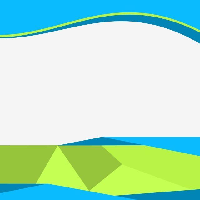 Modern Business Banner Flyer Material Business Green Blue Png
