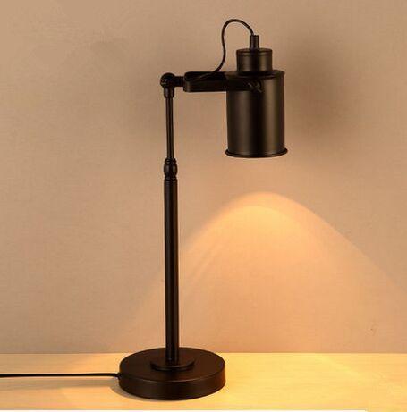 new design creative vintage style iron desk lamp  table light lamparas de mesa lampara escritorio abajur de mesa