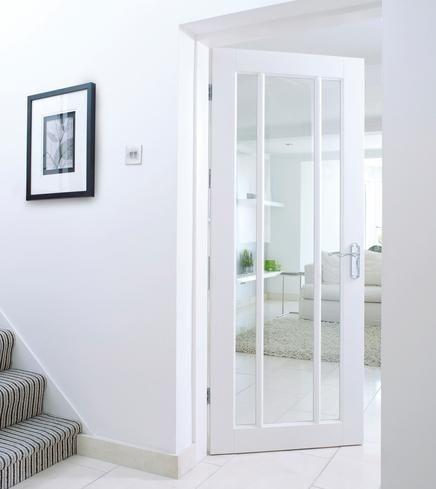 internal glazed door for kitchen