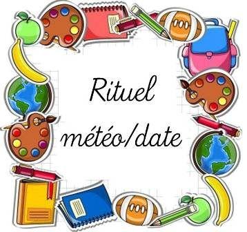 Affichage rituel date et météo