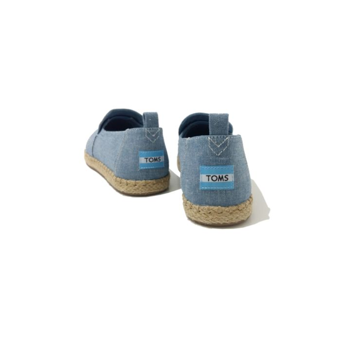 Chaussures TOMS Femme Slip-On Chambray