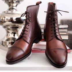 "aleksjj:  ""Old is gold  Jumper boots from @carminashoemaker"