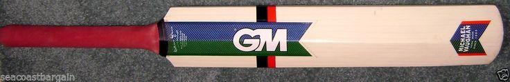 "Gunn & Moore Michael Vaughan Hit 4 Six Cricket Adult 6 31 1/2"" Wooden Bat India #GunnMoore"