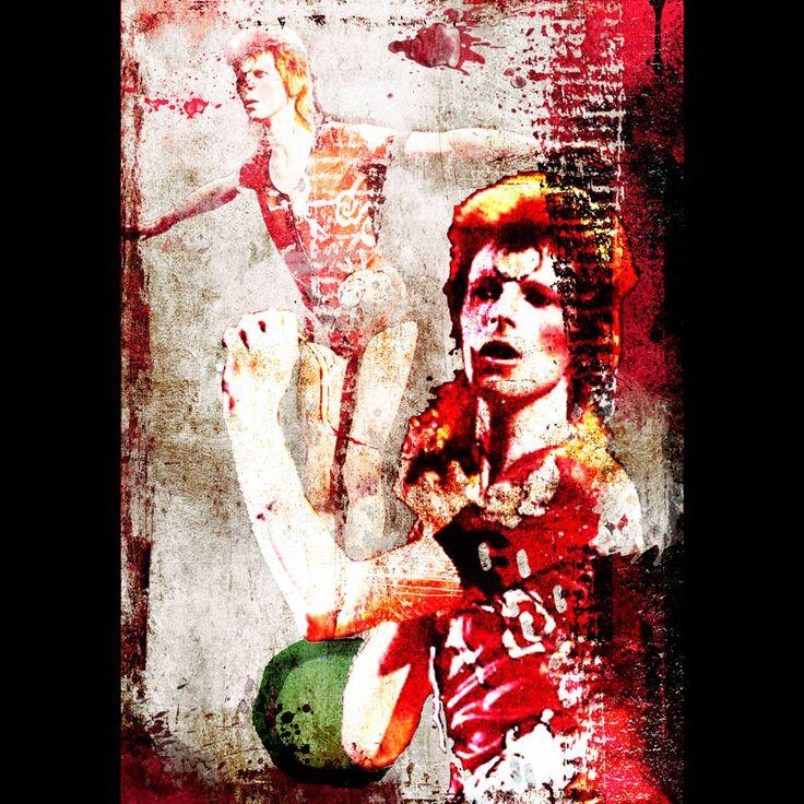 Arcane 1 - Le Mat (oh, Ziggy) 50x70 digital painting by Monica Seksich