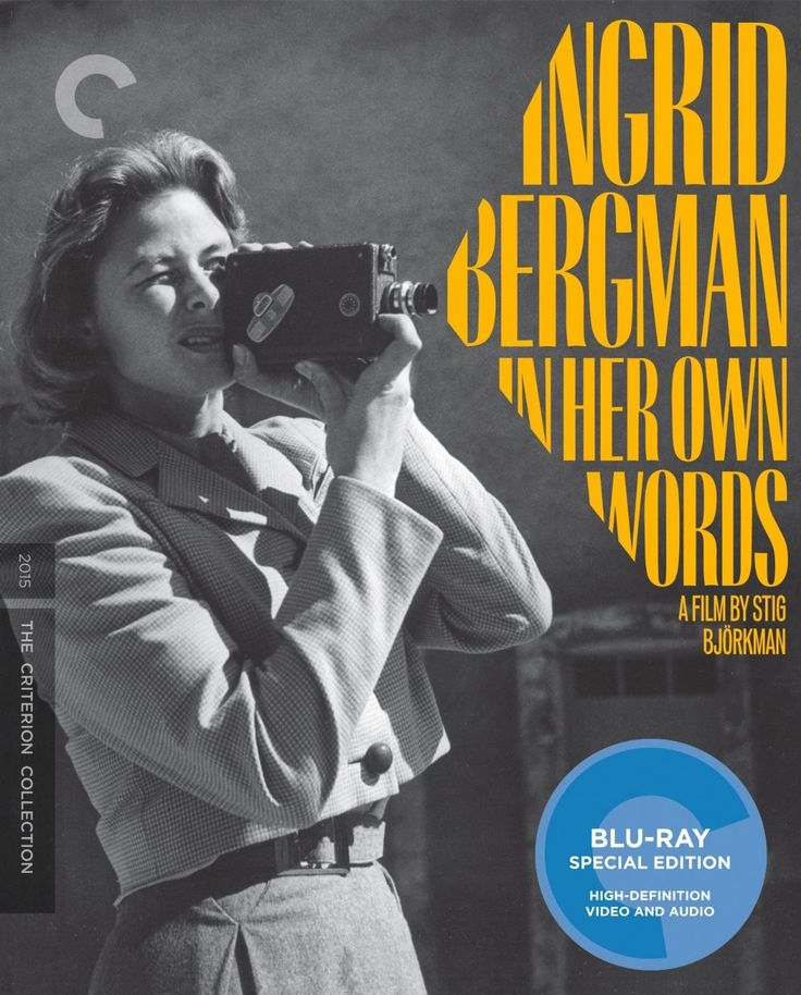 Ingrid Bergman: In Her Own Words (2015) The Criterion Collection Blu-ray