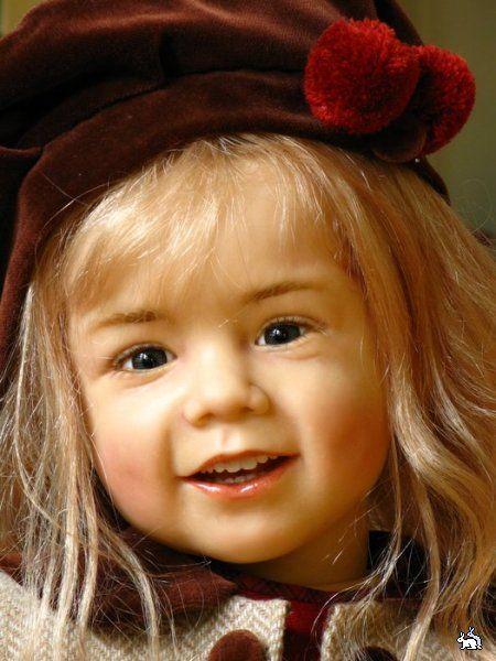 Живые куклы Сессиль Скилле (Sissel Skille).